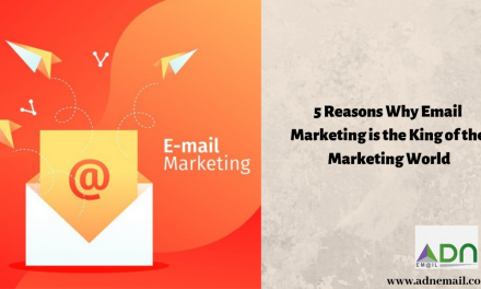 5 Reasons Why Email Marketing is the King of the Marketing World